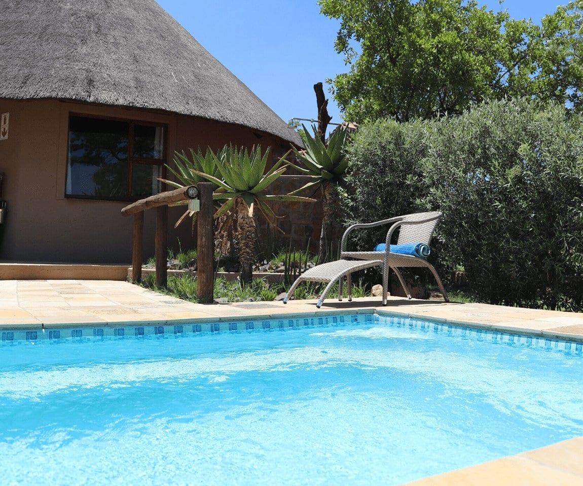 Big 5 Game reserve Johannesburg - Gallery, Villas, swimming pool