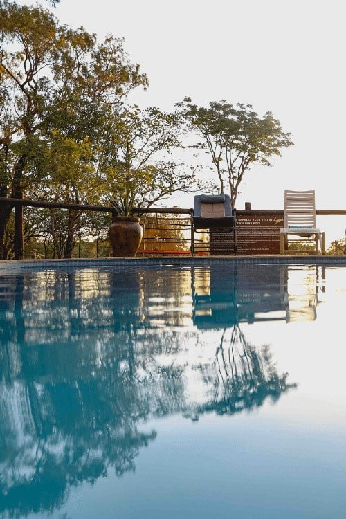 5 star game lodge near Pretoria - swimming pool