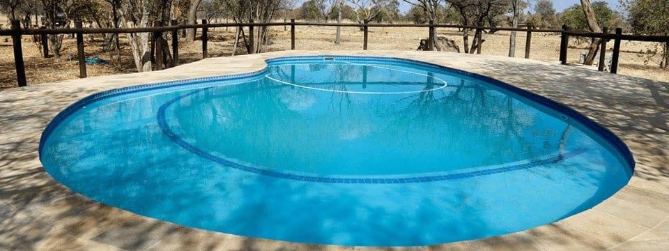 5 star game lodge Dinokeng - swimming pool