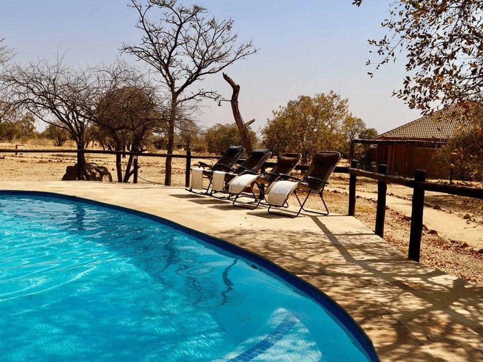 Golden Impalas (5 star game lodge near Johannesburg) - Swimming pool main